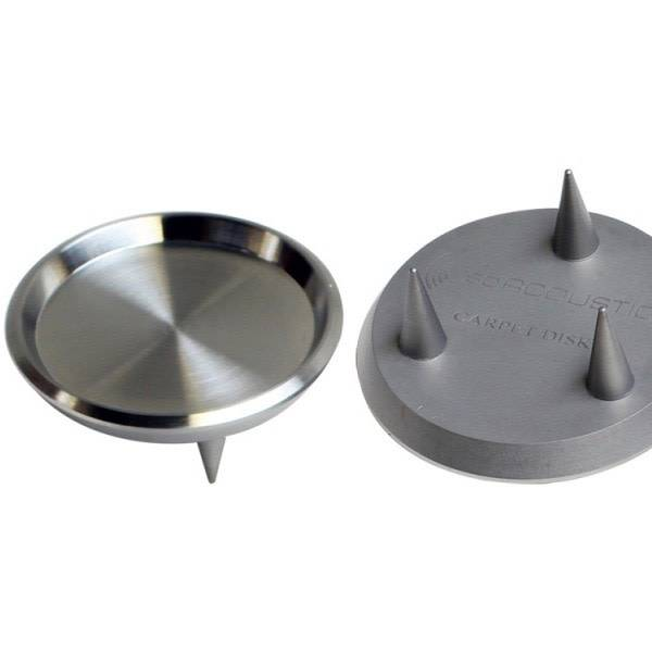 IsoAcoustics GAIA I Carpet Spikes/Disk ( Pack of 4  )