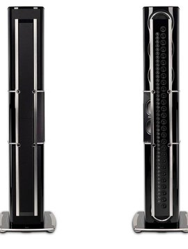 McIntosh XRT2.1K Floor Standing Loudspeaker, Gloss Black