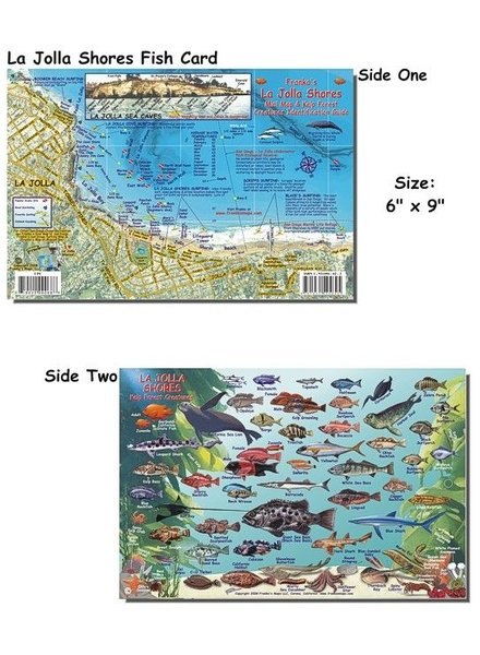 Franko's Maps La Jolla Reserve Map
