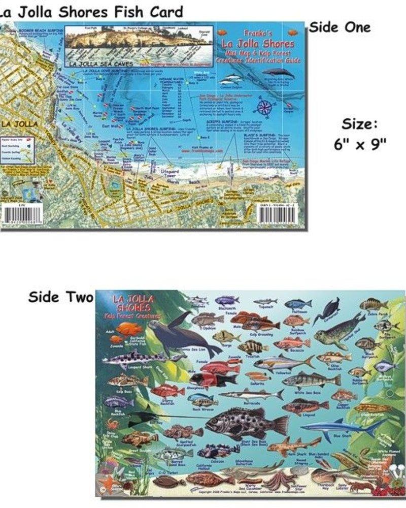 Franko's Maps Franko's La Jolla Preserve Map