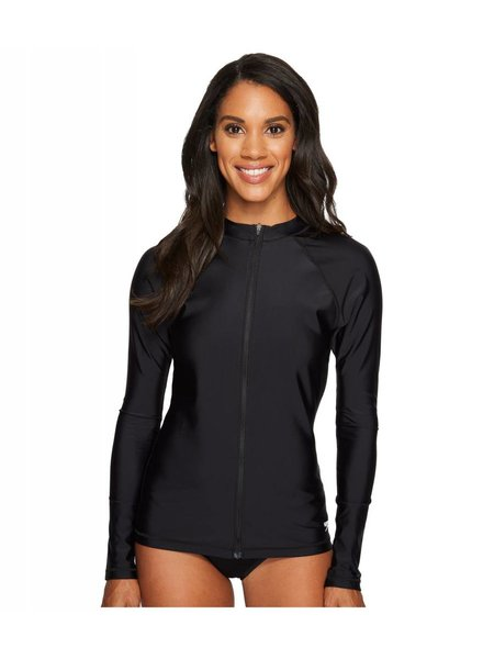 Speedo W Zip LS Rash