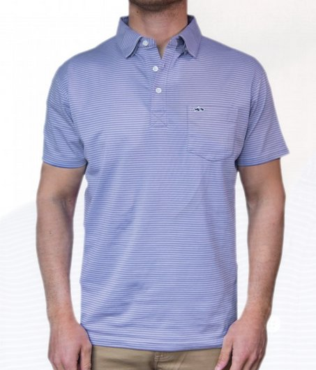 FH Shellbine Stripe Polo