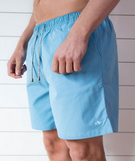FH Seersucker Swim Trunk