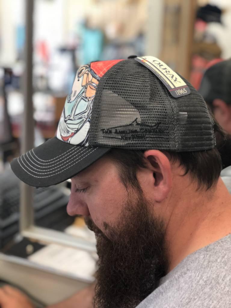 Tarpon on Red Foam Trucker Hat