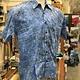 Fiji Shirt - Blue Modern Geo