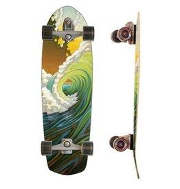"Skate Carver 34"" Greenroom C7 Complete"
