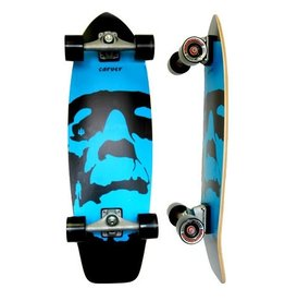 "Skate Carver Skateboards 31"" Da Monsta Blue C7 Complete"