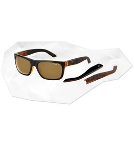 Arnette Drop Out Translucent Amber w/ Black Film Front/Amber Tortoise Polarized