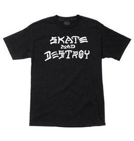 Skate Thrasher Skate And Destroy T Black Small