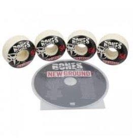 Bones New Ground DVD/Wheel Combo 54mm Street Tech Formula
