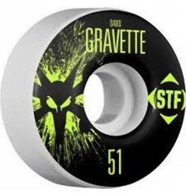 Skate Bones Gravette Splat 51mm STF