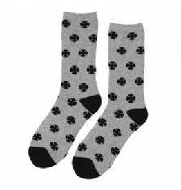 Skate Independent Multi Cross Socks Gray 9-11