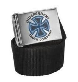 Skate Independent Bauhaus Cross Web Belt Black