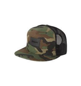 Nixon Nixon Ten Trucker Hat Woodland Camo