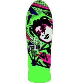 Skate VISION ORIGINAL MG DECK-10x30 LIME