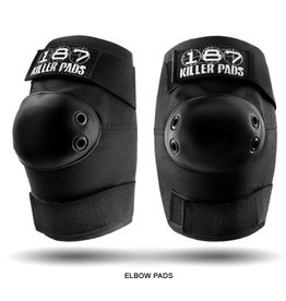 Skate 187 Standard Elbow Pads L Black