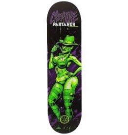 Skate Partanen Horror Babes P2 31.9 in 8.2 in Creature