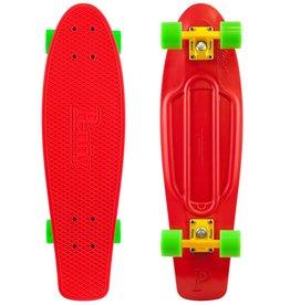 Skate Penny Skateboard Nickel Red Complete