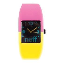 Neff CUSTOM NEFF DESIGN INTERCHANGEABLE ABS WATCH CASE WITH SILICONE STRETCH BAND