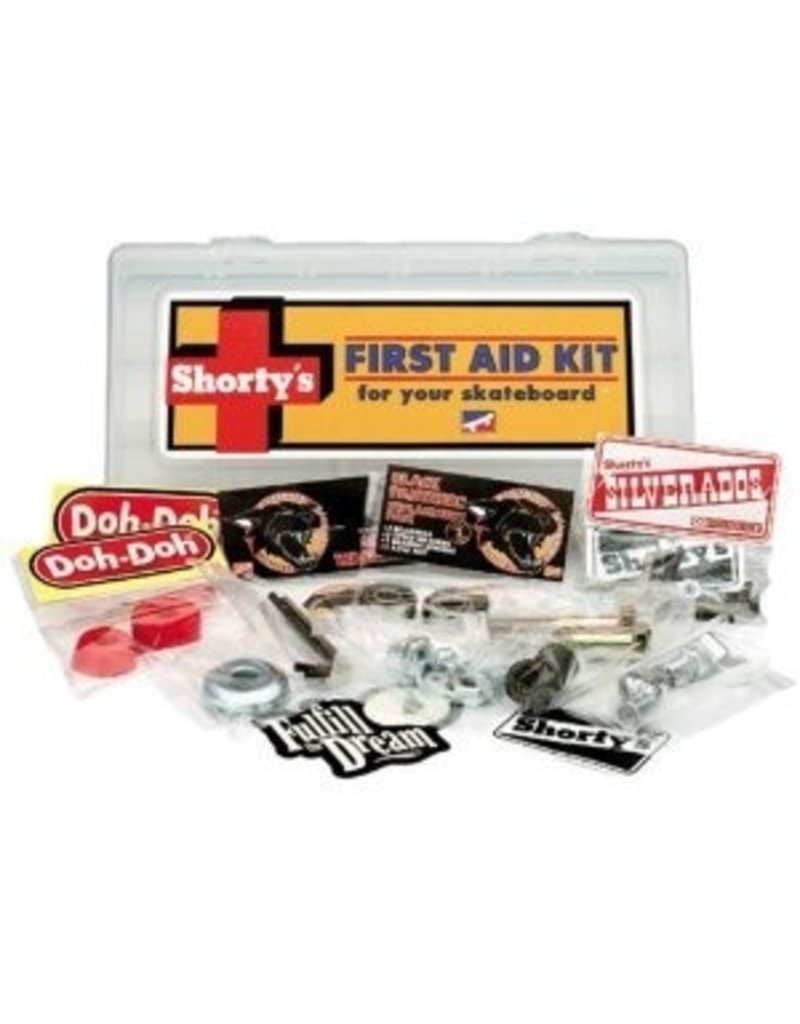 Skate Shorty's First Aid Kit