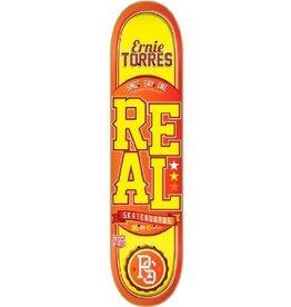 Skate Real Torres Black Deck 8.12 Low Pro