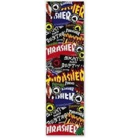 Skate Thrasher Mob Sticker Collage Grip Tape