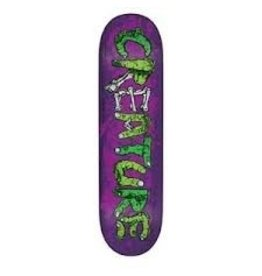Skate Team Gang Sign Purple Powerply 32 in 8.375 in Creature