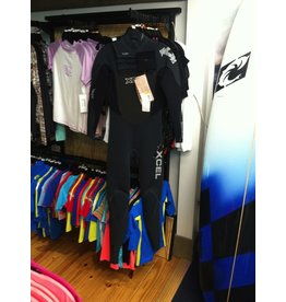 XCEL Xcel Infiniti X-Zip Small Black Grey Full Wetsuit