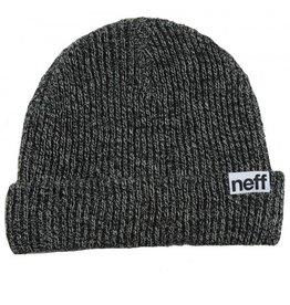 Neff Neff Fold Heather Beanie Black Grey