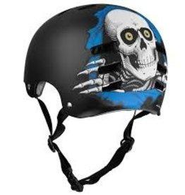 Skate TSG/Powell EVOL RIP Helmet Blue S/M