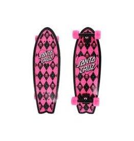 Skate Santa Cruz Argyle Shark Cruzer 8.8 x 27.7