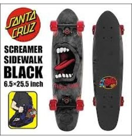 Skate Santa Cruz Sidewalk Screamer Black