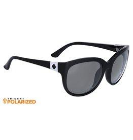 Spy Optic Spy OMG! Sunglasses Black Frame Grey Polarized Lens 673020038135