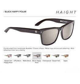 Spy Optic HAIGHT BLACK - HAPPY BRONZE POLAR w/ BLACK MIRROR
