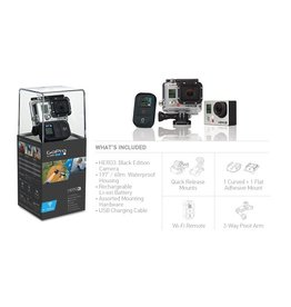 Go Pro Go Pro HD Hero 3 Outdoor Black Edition