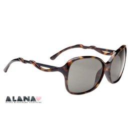 Spy Optic Spy Fiona Sunglasses Alana Blanchard Tortoise Frame Grey Green Lens