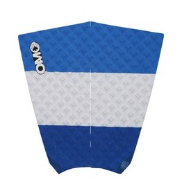 On a Mission OAM MOD Traction Pad Blue White Surfboard Traction Pad