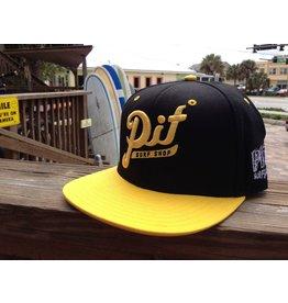 PIT Clothing PIT Snapback Black / Yellow