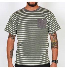 Roark Roark Santeria S/S Knit Pocket Tee Shirt Army Small