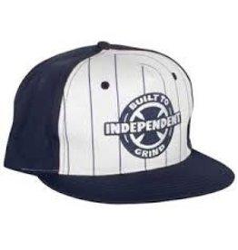 Skate Independent BTG Ring Twill Hat Adjustable White/Navy