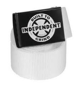 Skate Independent BTG Ring Web Belt White