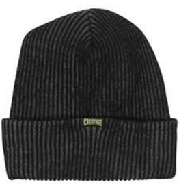 Skate Creature Double Vision Long Shoreman Beanie Black/Grey