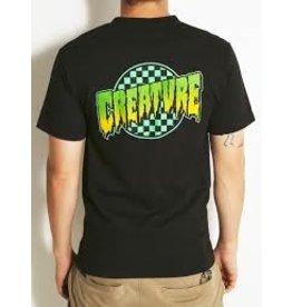 Skate Creature Go Home T-Shirt Black Lg Mens