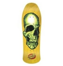 Skate Street Creep Yellow Reissue 31.75 in 10 in Santa Cruz Skate