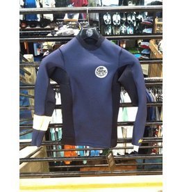 Rip Curl Rip Curl Aggrolite L/S Jacket 1.5 MM Grey Size XS Wetsuit Topper Guys