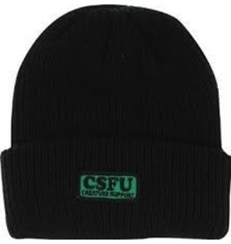 Skate Creature CSFU Support Long Shoreman Beanie Black