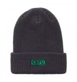 Skate Creature CSFU Support Long Shoreman Beanie Charcoal