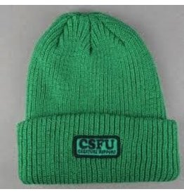 Skate Creature CSFU Support Long Shoreman Beanie Hunter Green