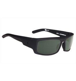 Spy Optic Spy ADMIRAL Soft Matte Black Happy Grey Green Polar Sunglasses