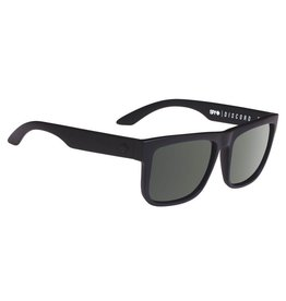 Spy Optic Spy DISCORD Soft Matte Black Happy Grey Green Sunglasses